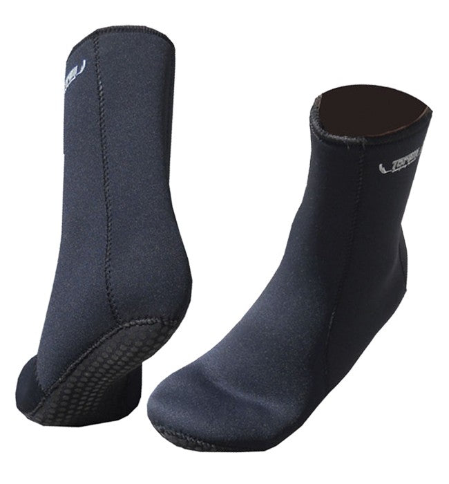 TORELLI 3MM DOUBLE LINED DIVE BOOTIES/SOCKS