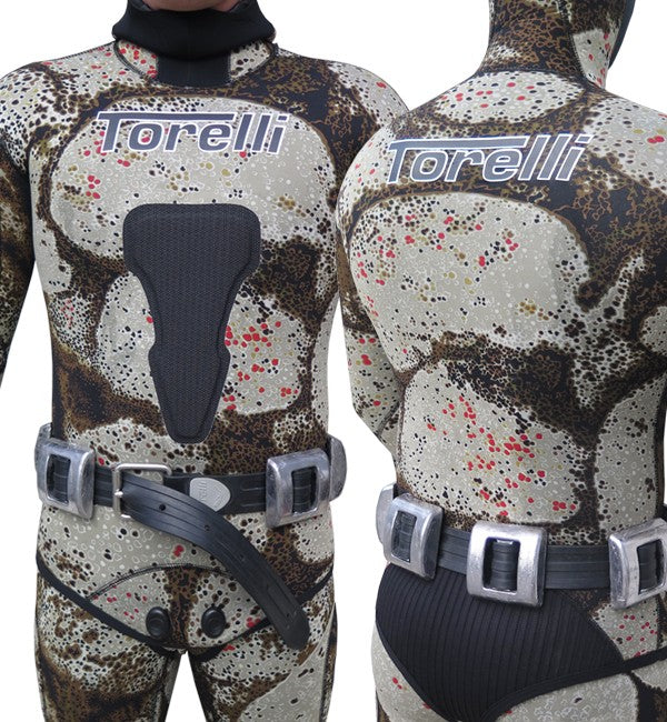 TORELLI MARSELLE RUBBER FREEDIVING WEIGHT BELT