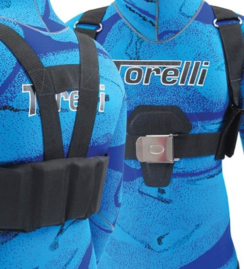 Torelli 8 Pocket Diving Weight Harness/Vest (S-M)