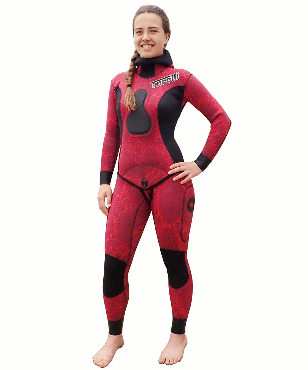 TORELLI WOMENS 3.5MM REDFISH SPEARFISHING WETSUIT
