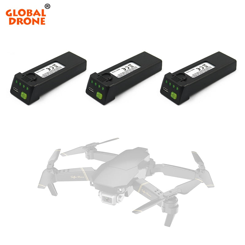 Global Drone EXA GD89 Battery Propellers Set