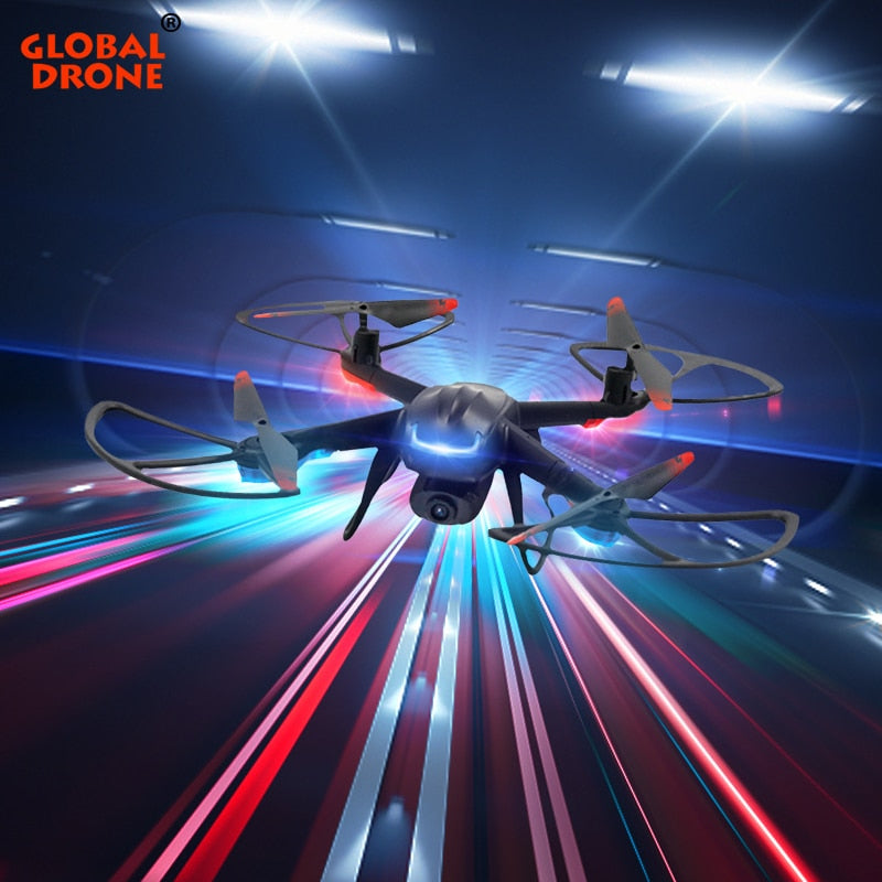 Global Drone GW007-3 Profissional Quadrocopter Dron FPV Mini Quadcopter Toys for Boys RC Drones with Camera HD Drone X Pro