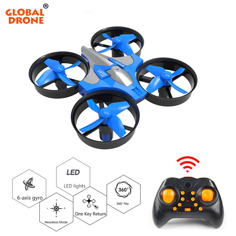 Mini Drone 6 Axis Gyro 2.4G 4CH Micro Drones RC Helicopter Headless Mode Pocket Quadcopter Dron VS H36 E61