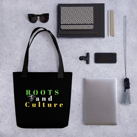 Roots and Culture Tote bag