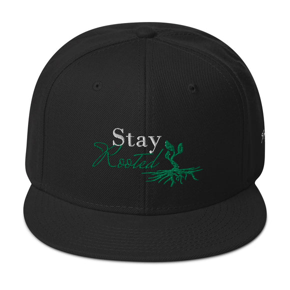 Stay Rooted Snapback Hat