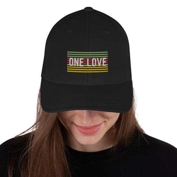 One Love Structured Twill Cap
