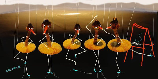 Prancing Pencil Puppets