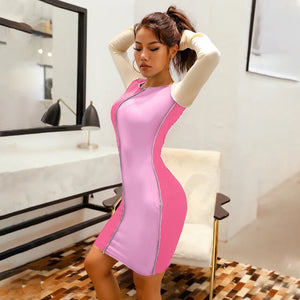 Shades of Pink Leisure Bodycon