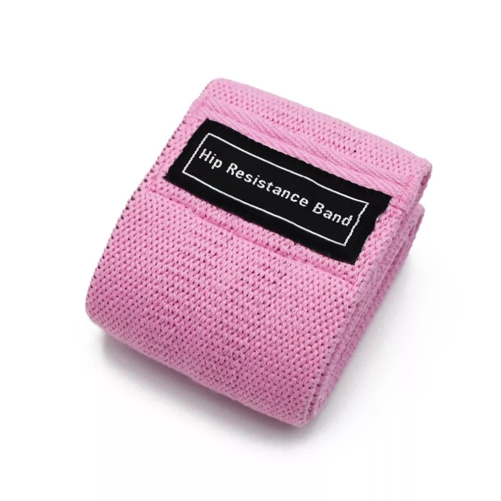Hip Resistance Bands (Pink)
