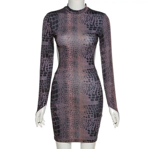 Serpent Midi Bodycon