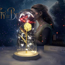 Load image into Gallery viewer, Beauty And The Beast Eternal Rose