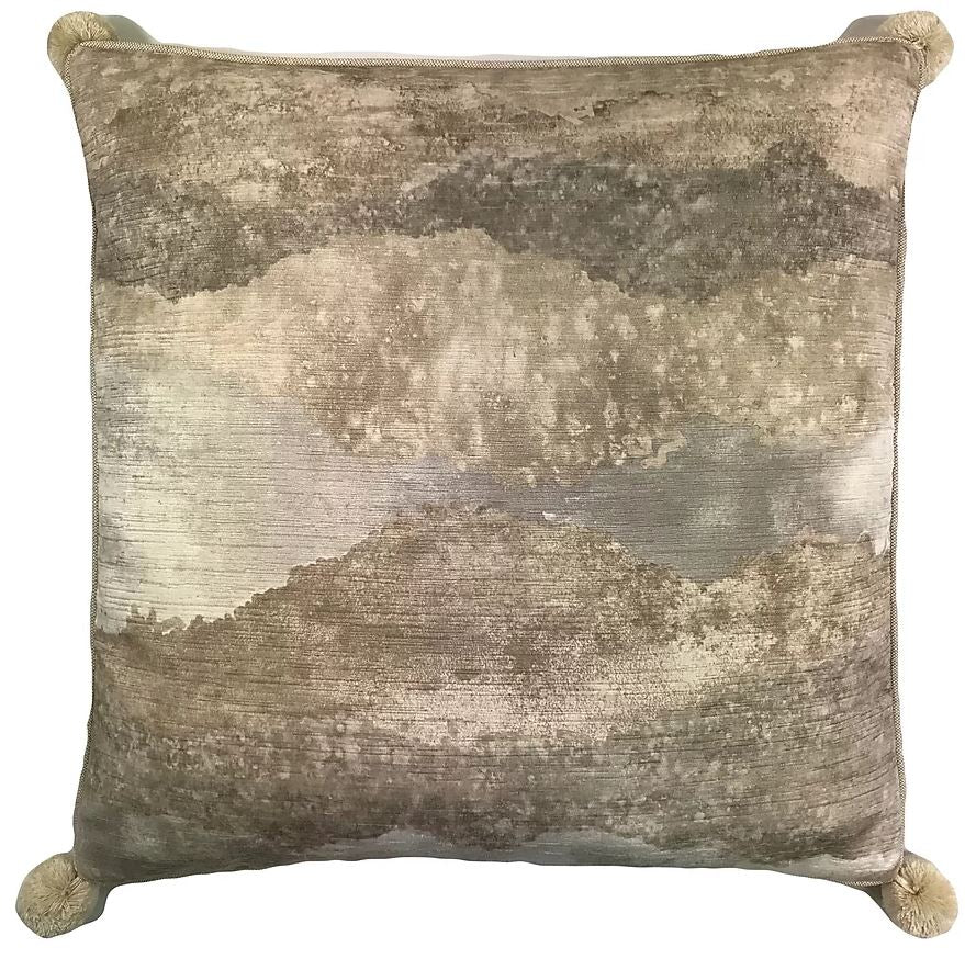 Cloudy Velvet Decorative Pillow