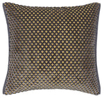 Graphite Cut Velvet Decorative Pillow