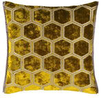 Cut Velvet Decorative Pillow