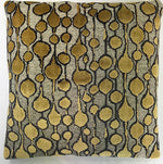 Gold Velvet Decorative Pillow