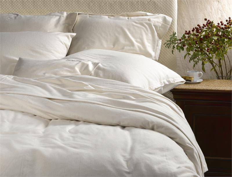 SDH The Purist Flannel Bedding