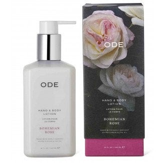 ODE Bohemian Rose Hand & Body Lotion