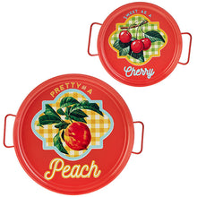 Load image into Gallery viewer, Sweet as a Cherry, Vintage themed tray.