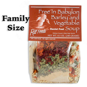 Free in Babylon Barley and Vegetable