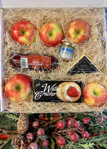Large Apple - Cheese- Salami  Farmhouse Box