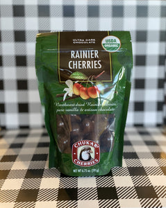 Organic Chocolate Rainier Cherries
