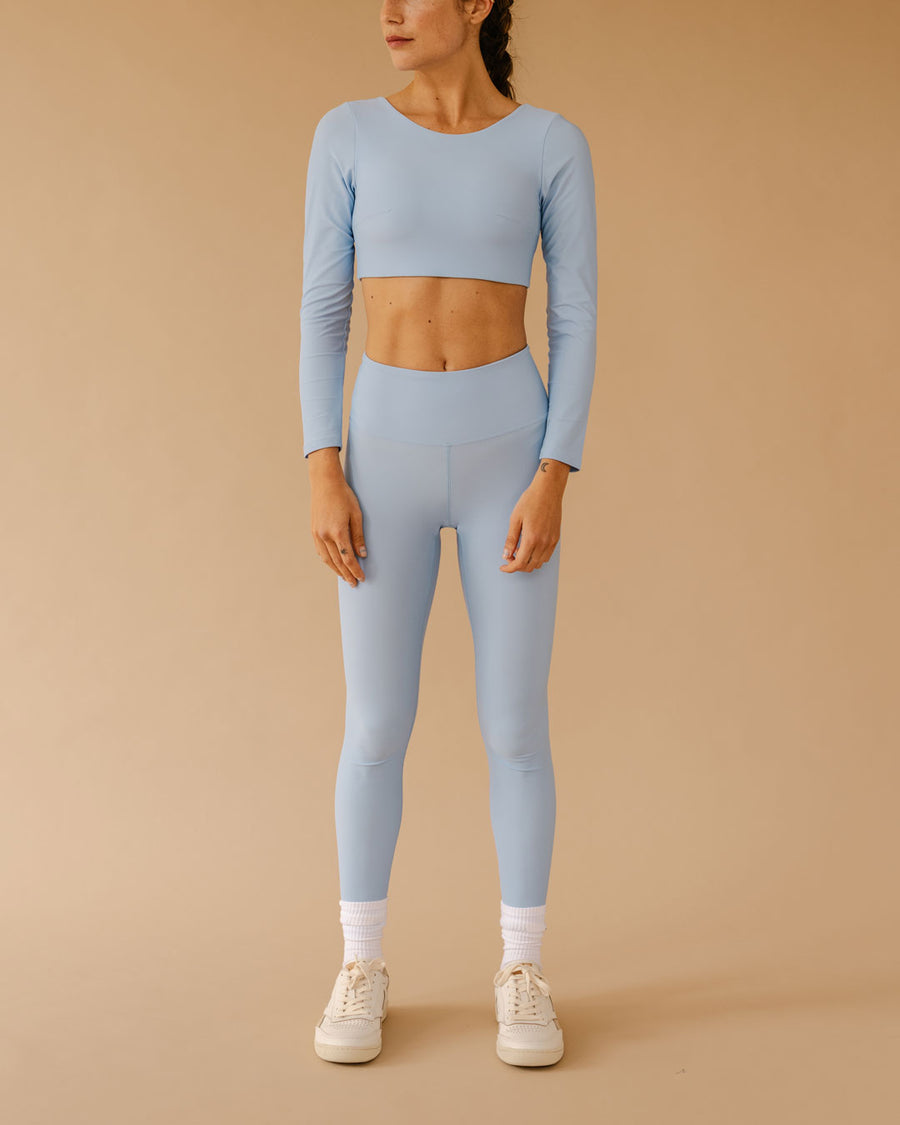 CORE LEGGING CLOUD BLUE