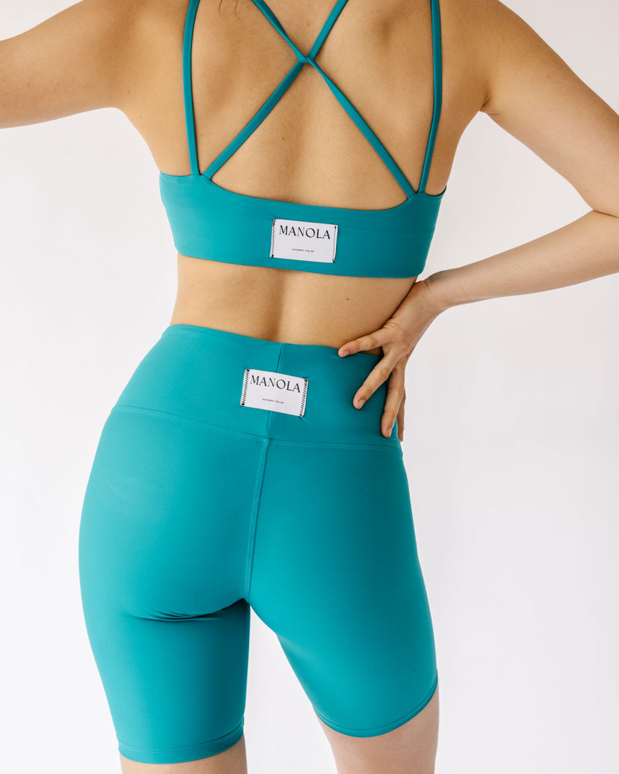 CORE CYCLING SHORT PERSIAN GREEN
