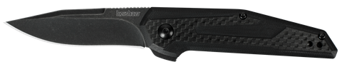 1160 KERSHAW FRAXION BLACK FOLDING KNIFE