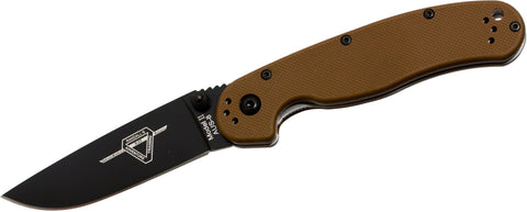 8861CB OKC RAT II | COYOTE BROWN G10
