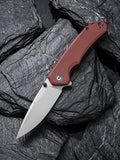 C2102B CIVIVI BRAZEN | BURGUNDY | DROP POINT |