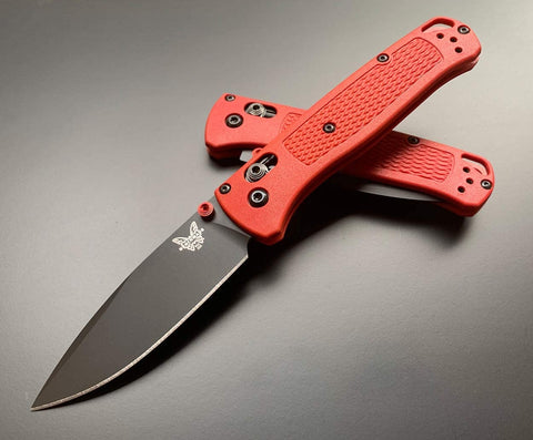BENCHMADE BUGOUT 535BK-2001 CRIMSON/BLACK
