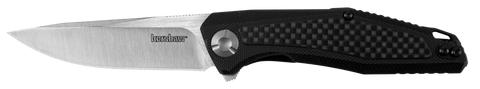 4037 Kershaw Atmos G10/Carbon Fibre Overlay Handle Folding Knife