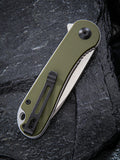 COMING SOON | C907E CIVIVI ELEMENTUM GREEN | G10 |