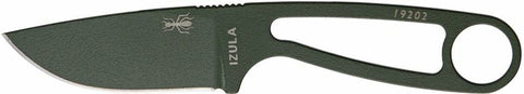 ESEE IZULA-OD (Olive Drab Blade, Black Sheath) Fixed Blade