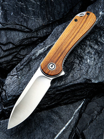 C907C CIVIVI ELEMENTUM ROSEWOOD HANDLE