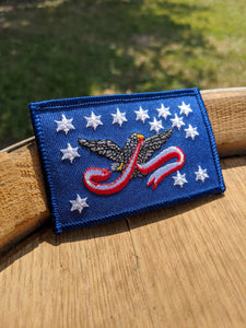 WHISKEY REBELLION FLAG PATCH