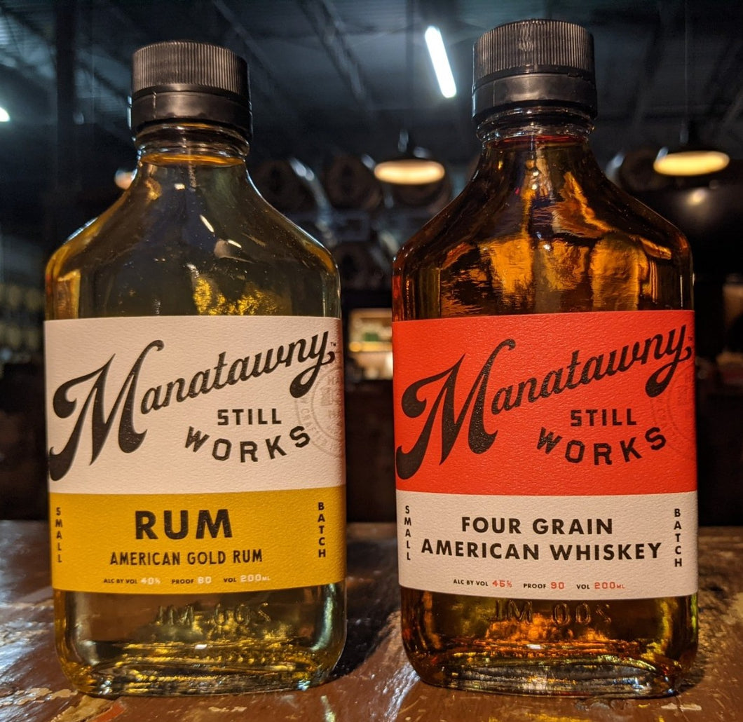 FOUR GRAIN WHISKEY AND AMERICAN GOLD RUM FOR COCKTAIL CLASSES