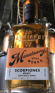SCORPIONES whiskey aged in mezcal barrels