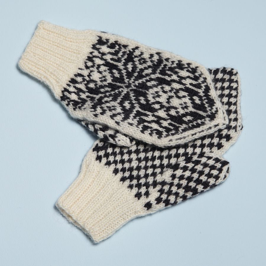 'North Star' Mittens