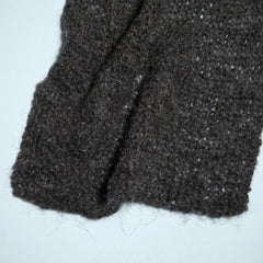 Hand Knitted Wool Gauze Scarf