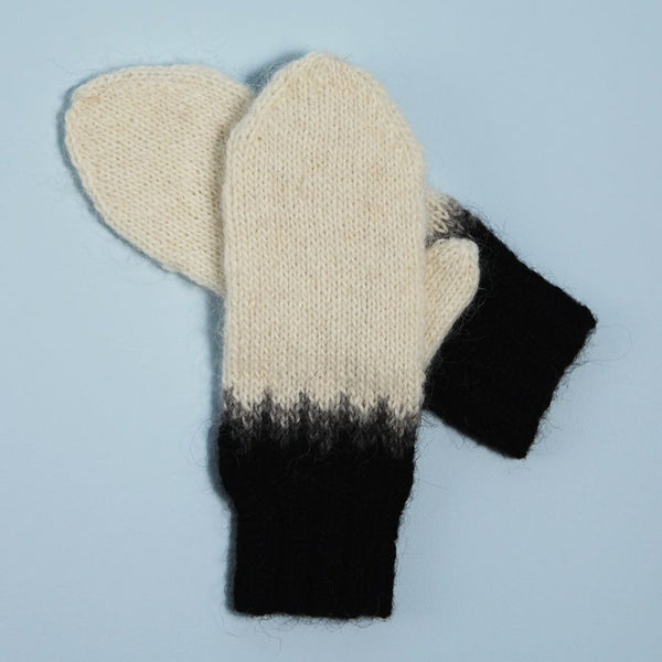 'Ink Dipped' Mittens