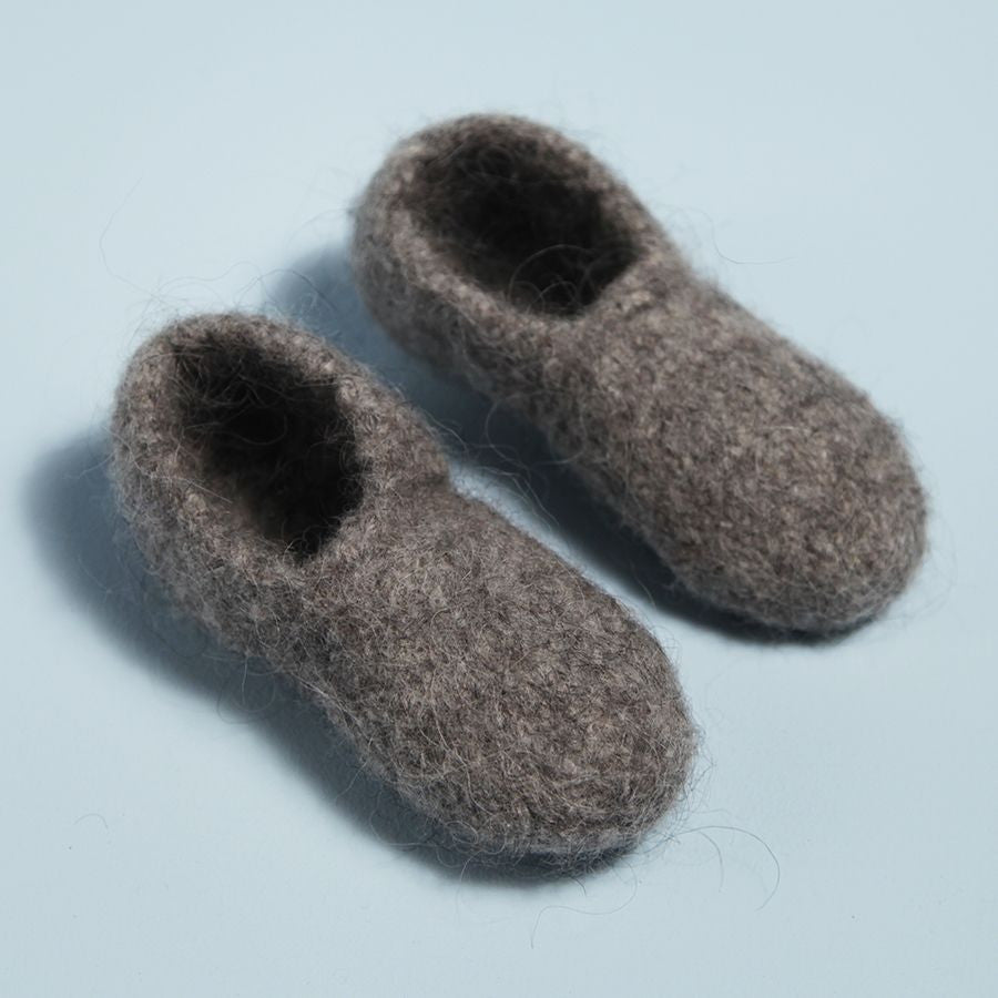 Boiled Wool Loafers