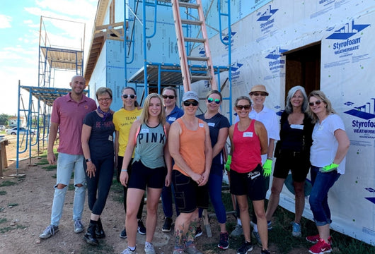 John Atencio Team Builds with Habitat for Humanity!