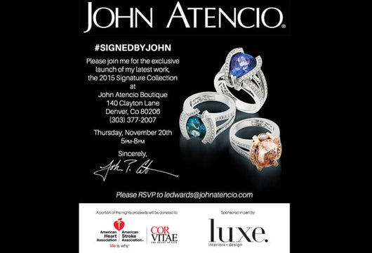 Signature Party Nov 20th, 5-8pm