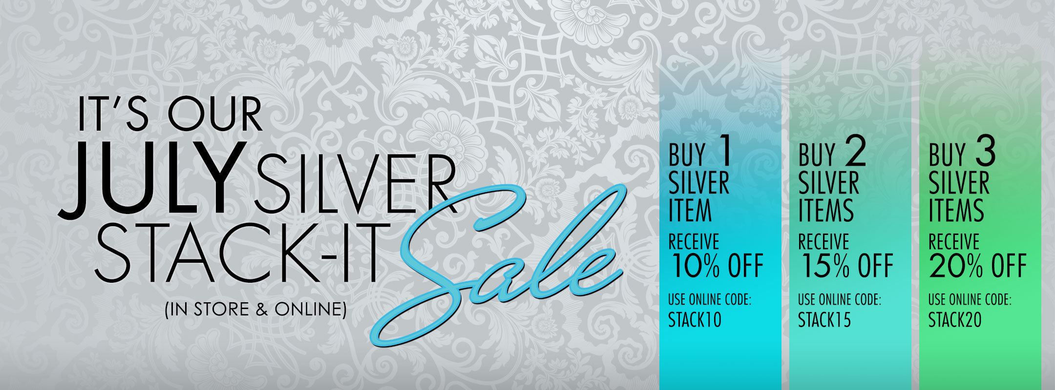 Silver Stack It Sale