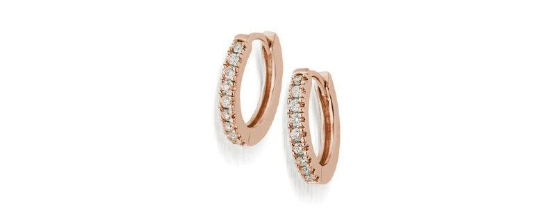 essence diamond earrings gold jewelry gift for mom