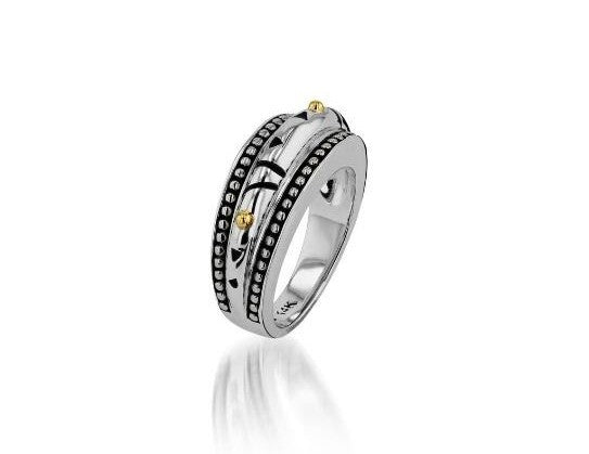 lifestyle jewelry solar domed ring