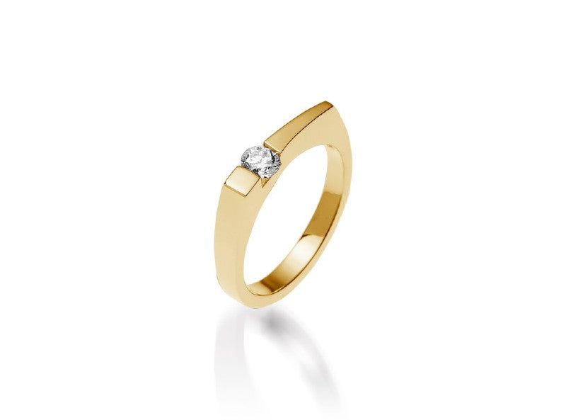 orion polar diamond ring gold jewelry gift for mom