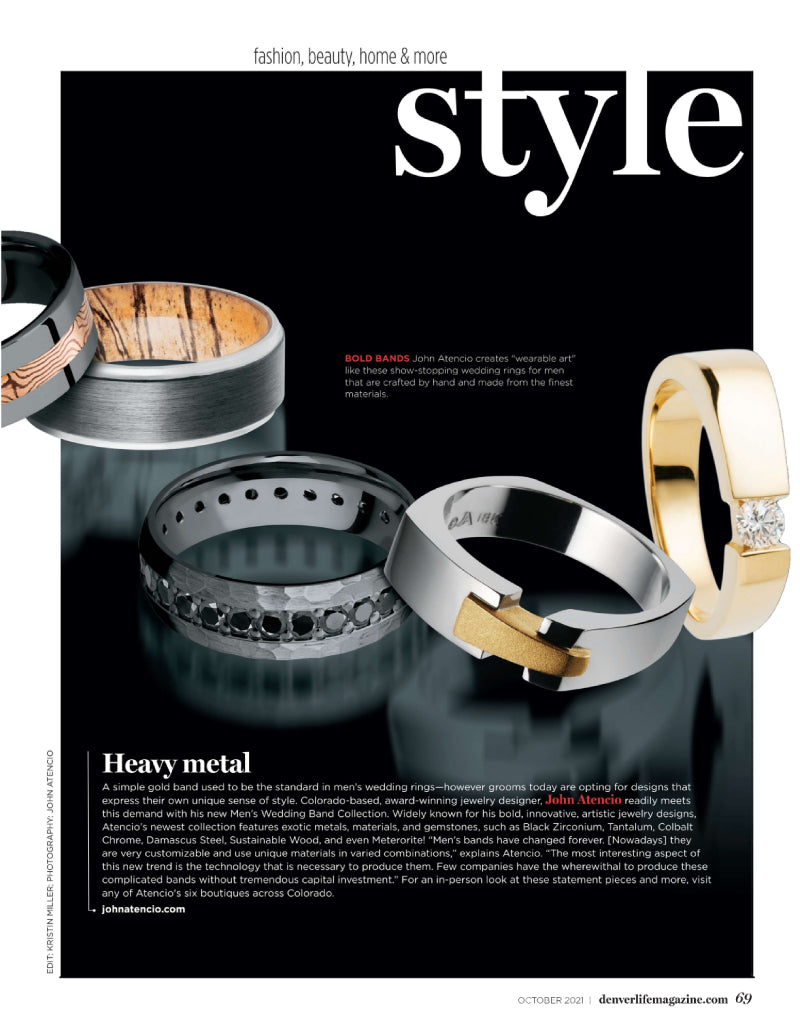 As Featured in Style Denver Life Magazine