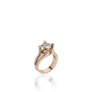 Rhapsody Diamond Engagement Ring